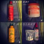Wash day 1 December '13