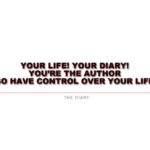 DiaryQuote | You are the writer!