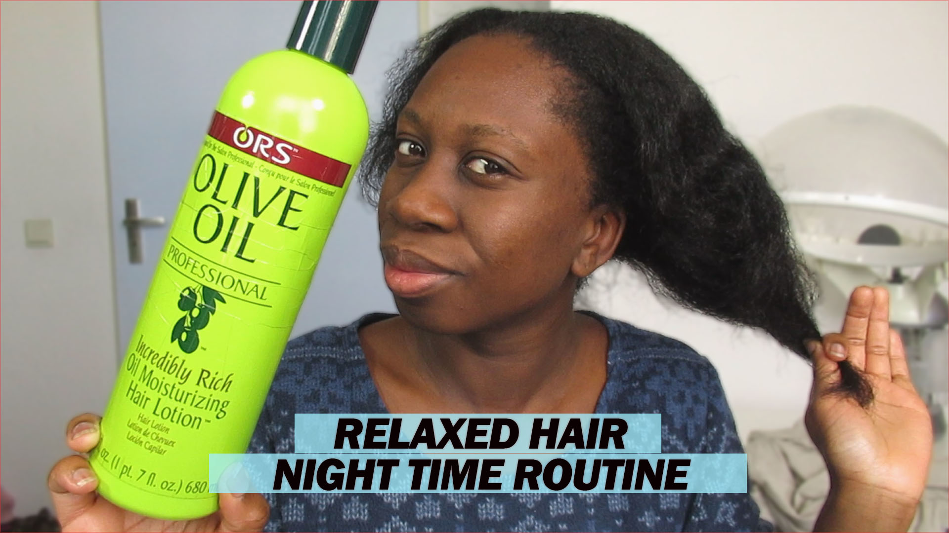 How Does Your Night Time Relaxed Hair Care Routine Look Like Eemsdiary