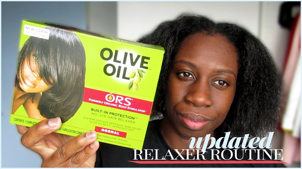 updated relaxer routine